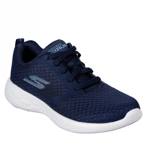 Go Run 600 Circulate in Navy/White by Skechers