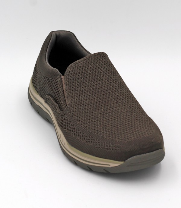 Expected-Gomel in Olive/Brown by Skechers