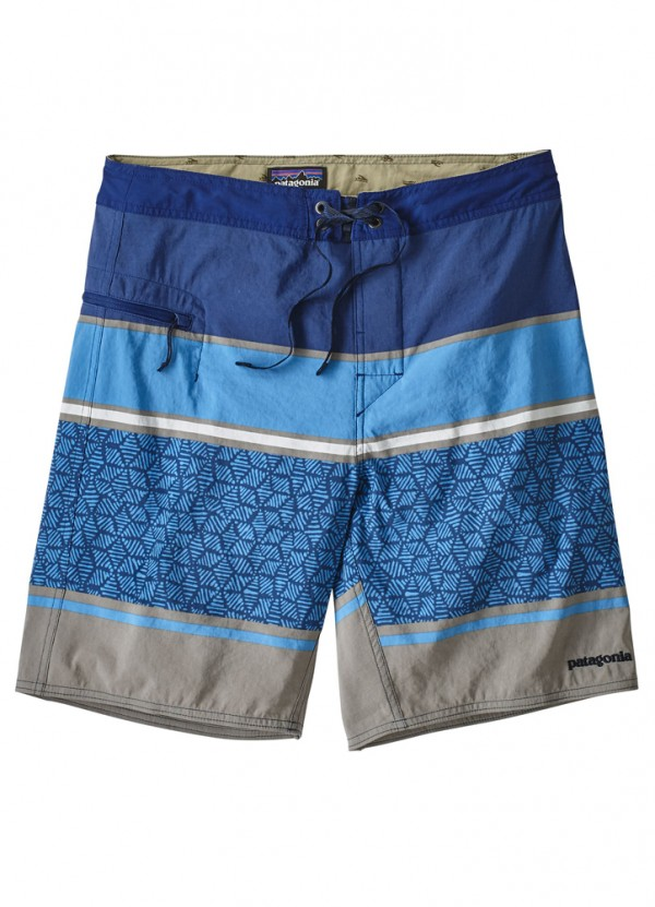 Wavefarer Boardshorts in Superior Blue by Patagonia