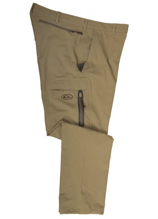 Stretch Pant in British Khaki by Drake