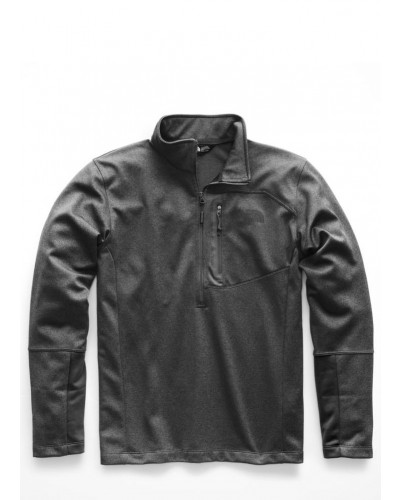 Mens Canyonlands 1/2 Zip in TNF Med Grey Heather by The North Face