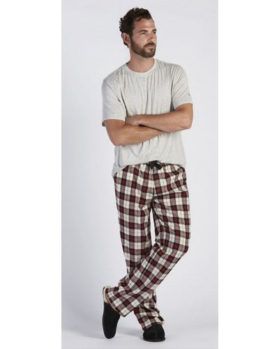 Grant Set in Seal Heather/Plaid Timeless Red by UGG