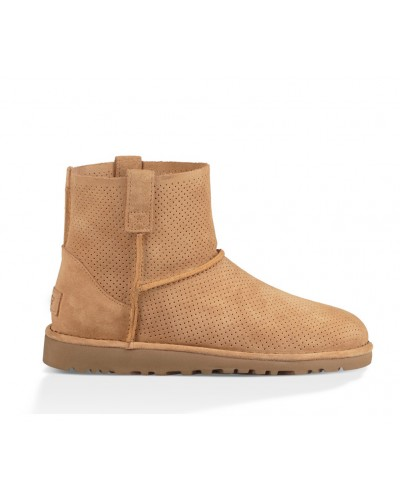 Classic Unlined Mini Perf in Tawny by UGG