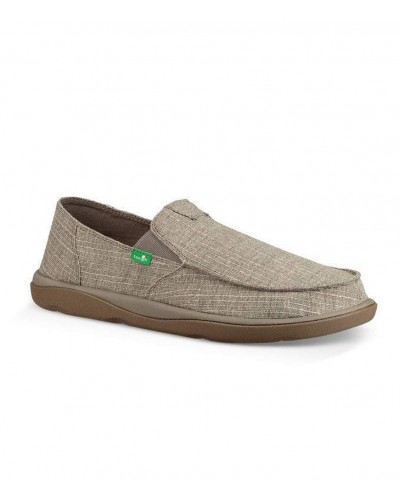 Vagabond Tripper Grain in Grey Slub by Sanuk