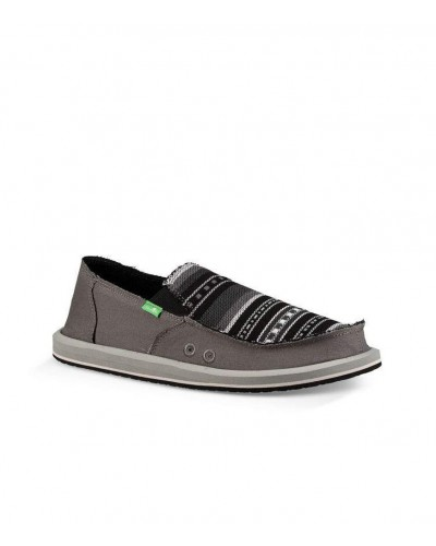 Vagabond Mixer in grey/black blanket by Sanuk