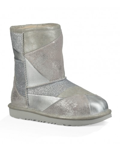 Classic Short II Patchwork in Silver by UGG