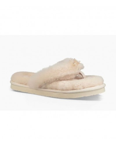 Fluff Flip Flop III in Natural by UGG