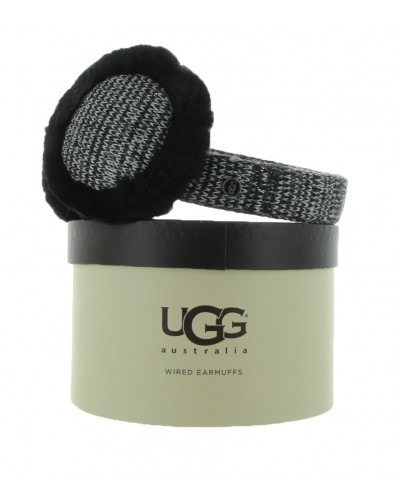 Marled Earmuff W/Speaker in Black by UGG
