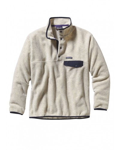Synchilla Snap-T Pullover in Oatmeal Heather by Patagonia