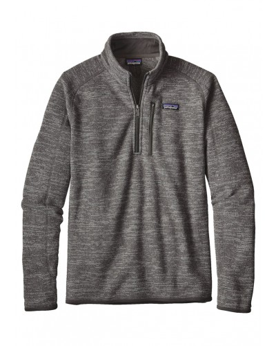 Better Sweater 1/4 Zip in Nickel by Patagonia