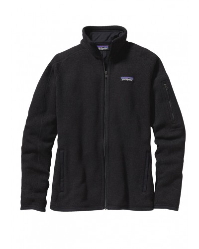 Better Sweater Jacket in Black by Patagonia