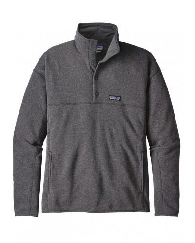 LW Better Sweater Marsupial Pullover in Forge Grey by Patagonia