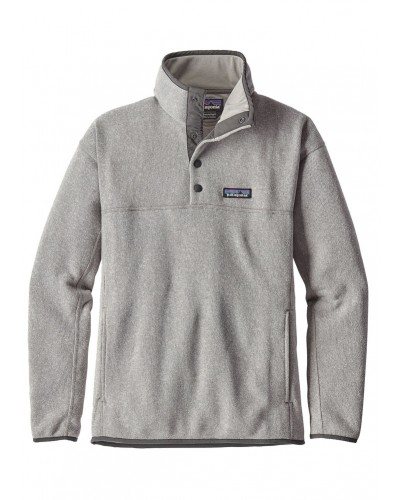 LW Better Sweater Marsupial Pullover in Drifter Grey by Patagonia