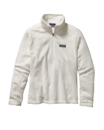Micro D Fleece1/4 Zip in Birch White by Patagonia