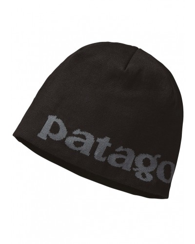 Beanie Hat in Logo Belwe: Black by Patagonia