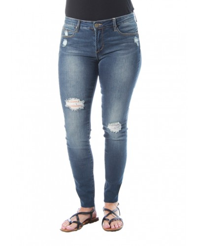 Sarah Ankle Skinny w/Cut Off Hem in Prairie Wash by Articles of Society