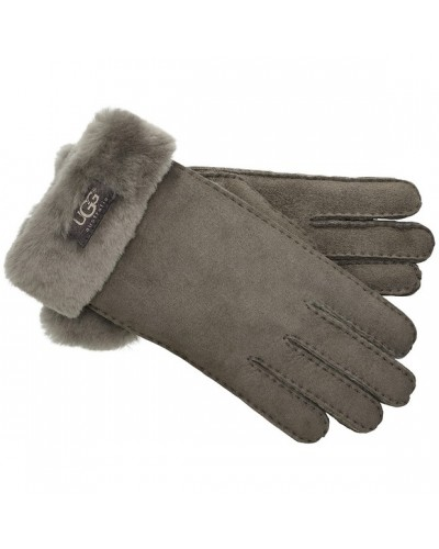 Classic Turn Cuff Glove in Stormy Grey by Ugg