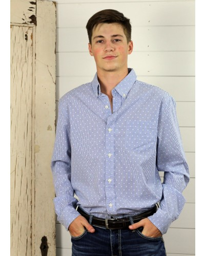 Easy Care in Blue Multi by Chaps
