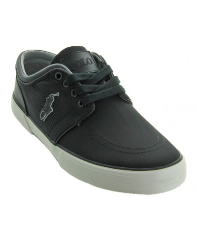 Faxon Low in Black by Polo Ralph Lauren Footwear