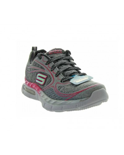 Air Appeal Cosmic Crush in Charcoal/Hot Pink by Skechers