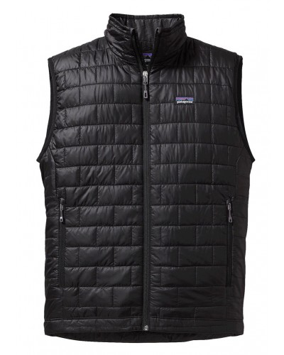 Nano Puff Vest in Black by Patagonia