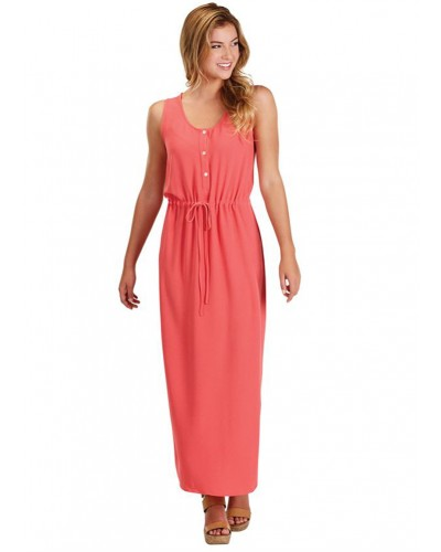 Derby Maxi Dress in Pink by Mudpie