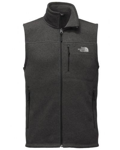 Gordon Lyons Vest in TNF Black Heather by The North Face
