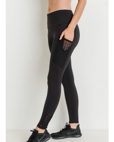 Accent Legging in Black by Mono B