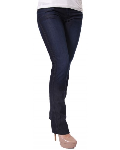 Kimmie Straight in Rich Clean Blue by Seven For All Mankind