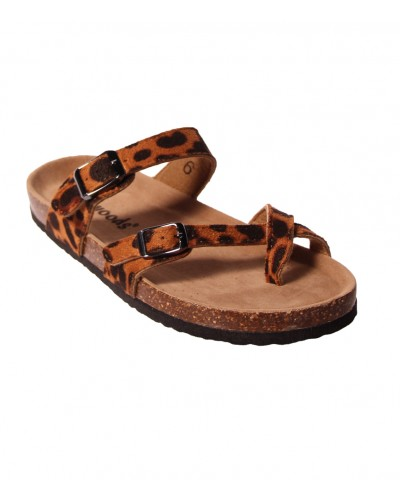 Yogi Sandal in Cheetah by Miami Shoe