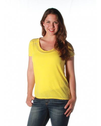 Jade Classic Top in Summer Sun by Dear John