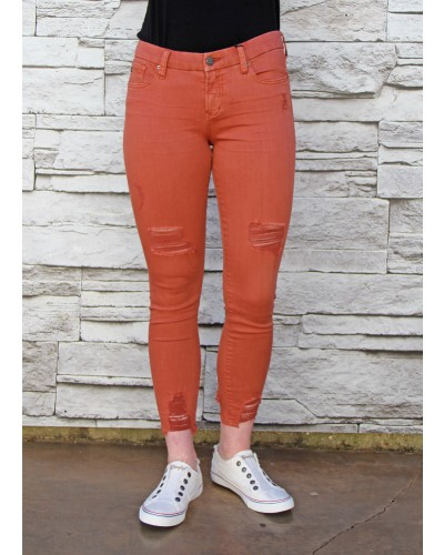 Joyrich Skinny in Terracotta by Dear John
