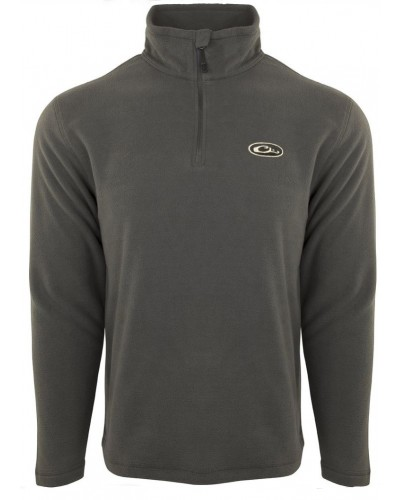 Camp Fleece 1/4 Zip in Gray by Drake