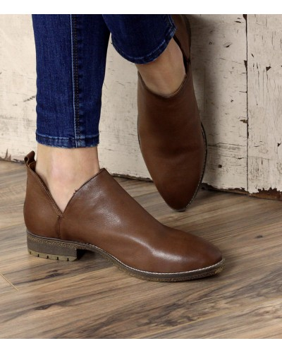 Graham Short Boot in Tan by Very Volatile