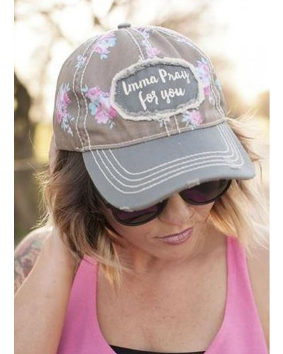 Imma Pray For You Hat by Rubys Rubbish