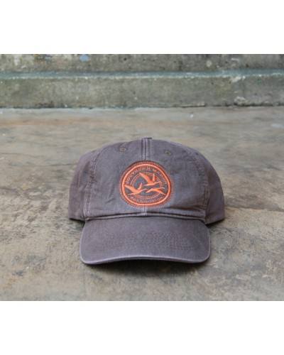 Thompson Twill Hat - Geese in Stone Brown by Southern Marsh