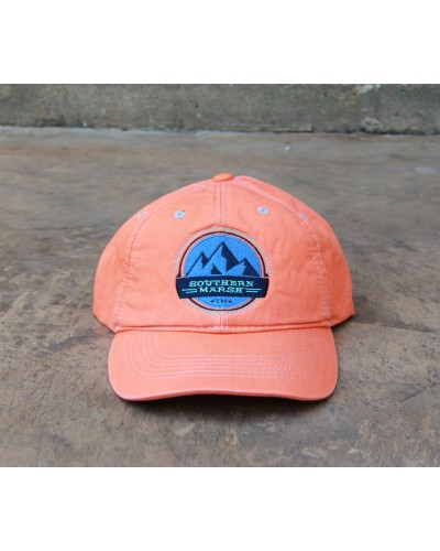 Thompson Twill Hat Summit in Coral by Southern Mrsh