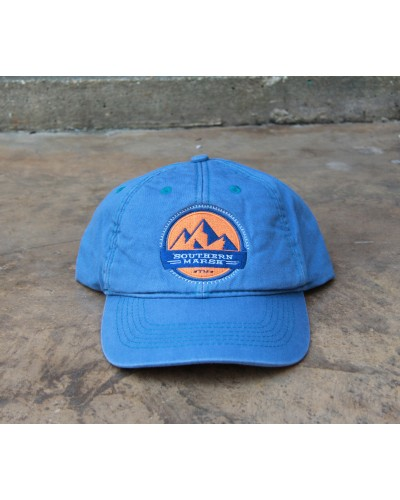 Thompson Twill Hat Summit in Washed Blue by Southern Marsh