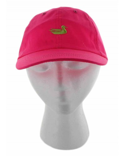 Neon Pint Hat with Lime Duck by Southern Marsh