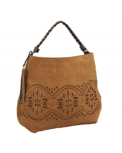 Jaide Hobo Bag in Tan by Steven