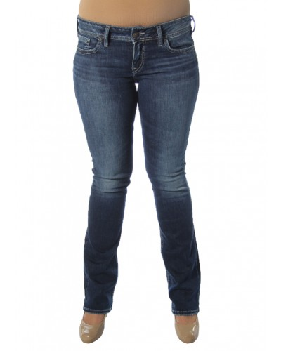 Elyse Slim Boot in Indigo by Silver Jeans