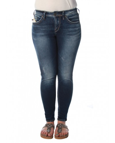 Avery Ankle Skinny by Silver Jeans Company