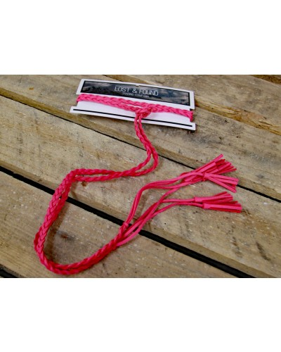 Lariat Rope /Pink by Lost & Found Trading Co