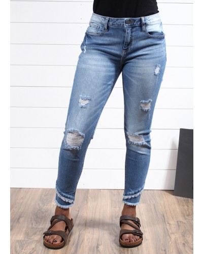Ankle Skinny in Med 486 by Miss Me