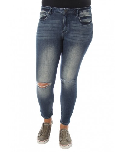 Ankle Skinny in Med 445 by Miss Me