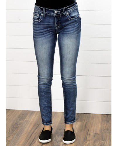 Mid-Rise Skinny in m542 by Miss Me