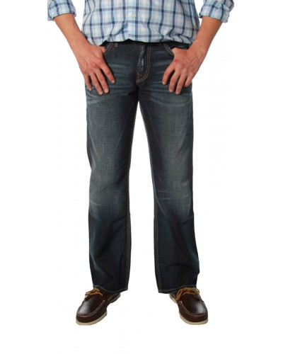 Zac Woven Denim Pant in Indigo by Silver Jeans