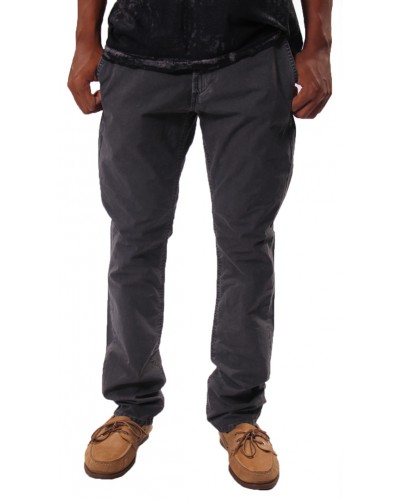 Slim Chino in Grey Twill by Big Star Jeans