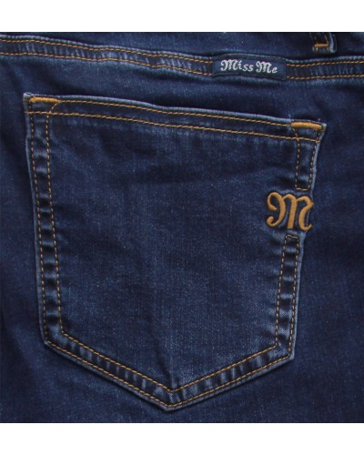 Mid-Rise Super Skinny in Dk 499 by Miss Me