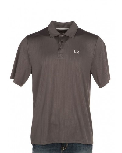 Polo in Gray by Cinch